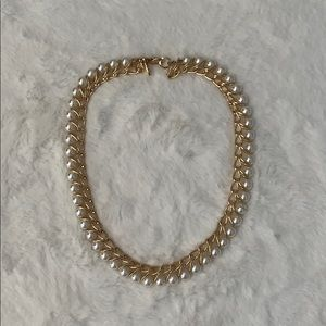 Anne Taylor pearl chain necklace